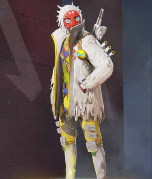 Apex Legends S03 Crypto The Masked Dancer Jacket