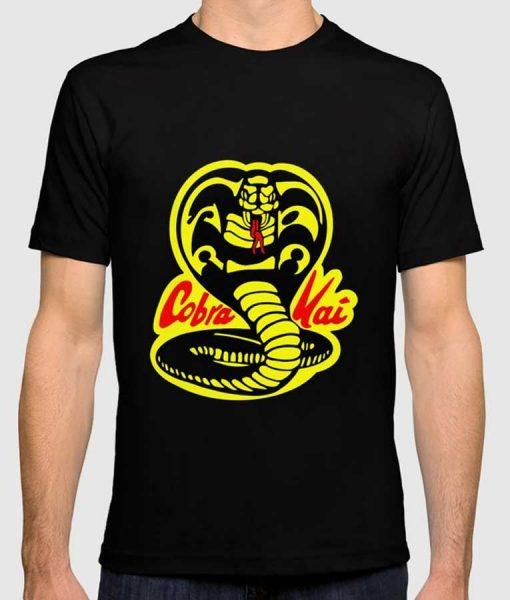 Cobra Kai Logo Black T-Shirt