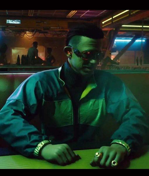 Cyberpunk 2077 Kirk Sawyer Bomber Jacket