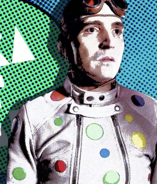 The Suicide Squad Polka-Dot Man Jacket