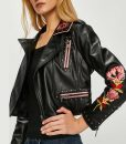 Elite S02 Carla Roson Embroidered Leather Jacket
