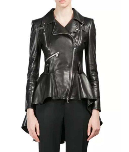 Eliza Taylor The 100 S07 Clarke Griffon Black Moto Jacket