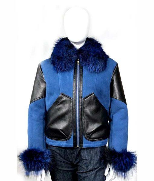 Elizabeth Sheepskin Shearling Jacket