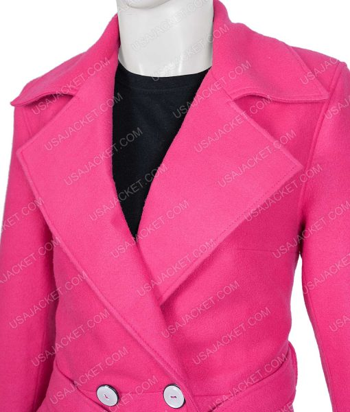 Emily Cooper Pink Coat