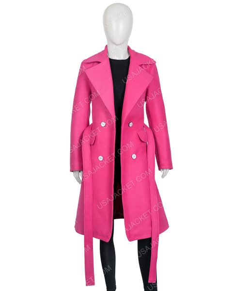 Emily In Paris Emily Copper Pink Coat