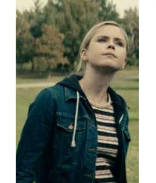 Erin Moriarty The Boys Season 02 Episode 06 Annie January Denim Jacket