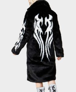 Fallen Angel Fur Trench Coat