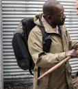 Fear The Walking Dead S04 Morgan Jones Hooded Coat