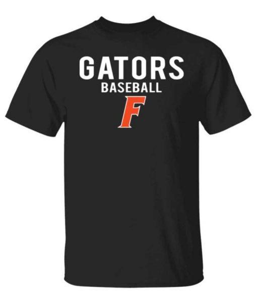 Florida Gator Baseball Black Shirt