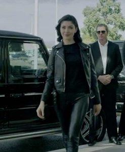 No Escape Black Leather Jacket
