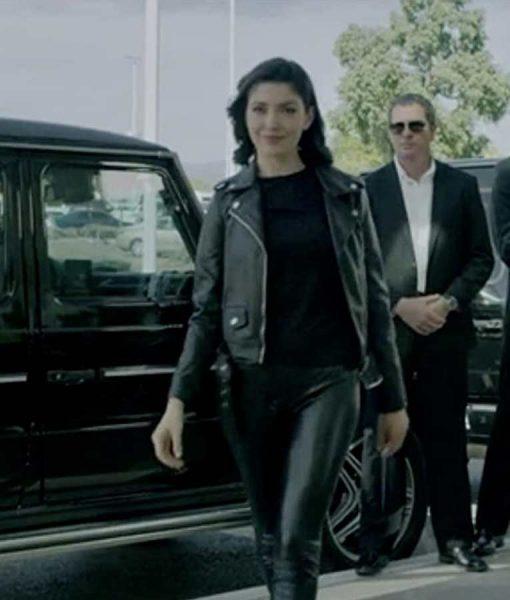 Follow Me Viktoria Leather Jacket