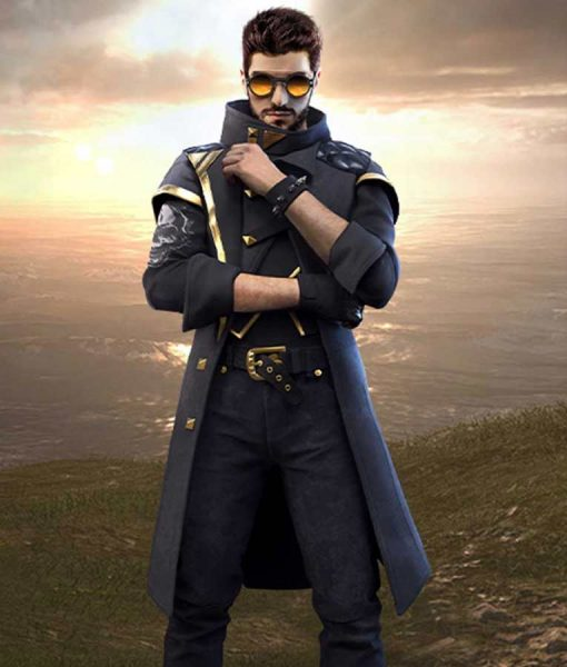 Free Fire Alok Trench Coat