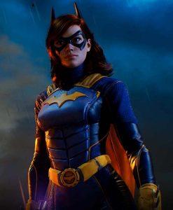 Barbara Gordon Gotham Knights Batgirl Leather Jacket
