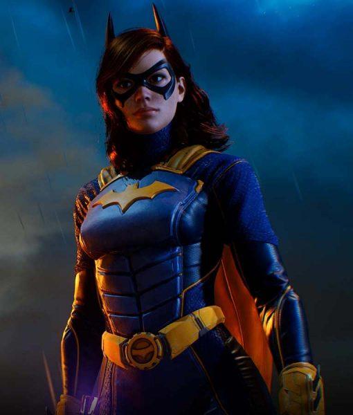 Gotham Knights Batgirl Leather Jacket