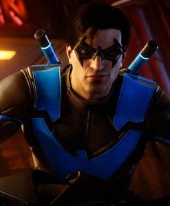 Dick Grayson Gotham Knights Nightwing Leather Jacket