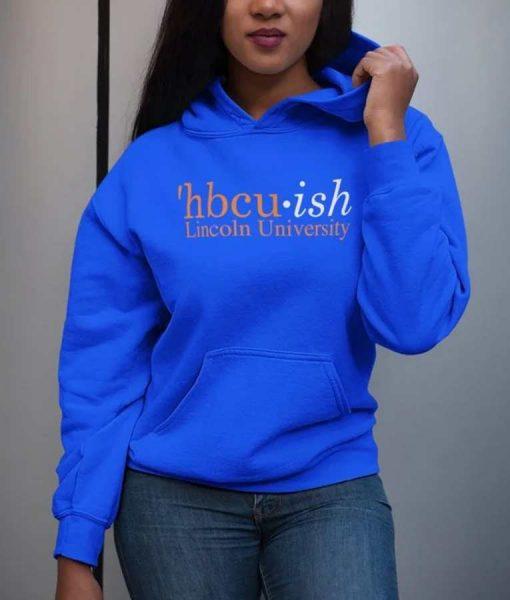 Hbcu Week HBCUish Lincoln University Hoodie