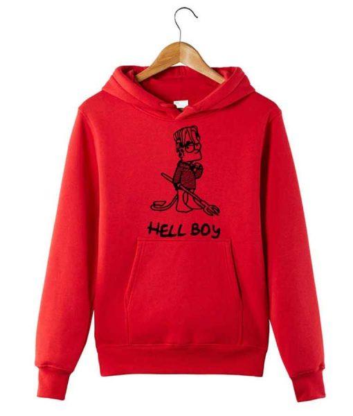 Hellboy Red Hoodie
