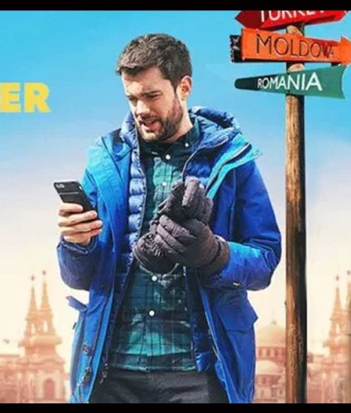 Jack Whitehall Travels With My Father Coat with Hood