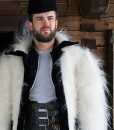 Jack Whitehall Travels With My Father S04 Jack Whitehall Fur Jacket