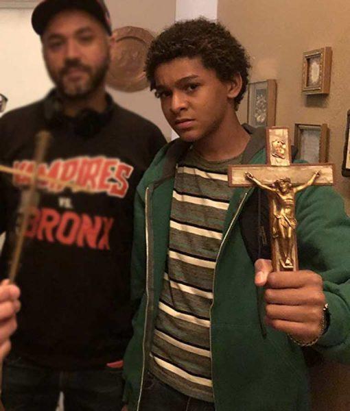 Jaden Michael Vampires vs. the Bronx Hoodie