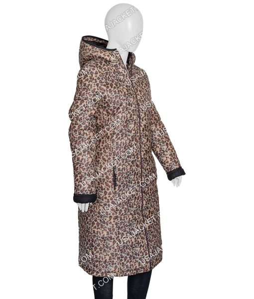 Joe fresh Jilly Leopard Print Coat