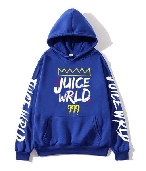 Juice WRLD 999 Unisex Blue Hoodie