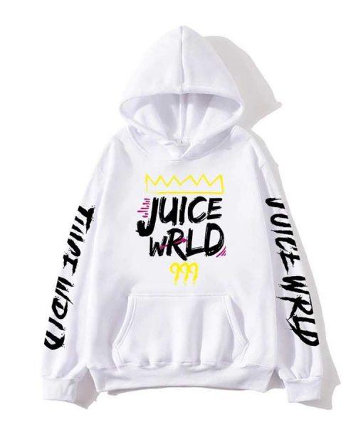 Juice WRLD 999 White Hoodie