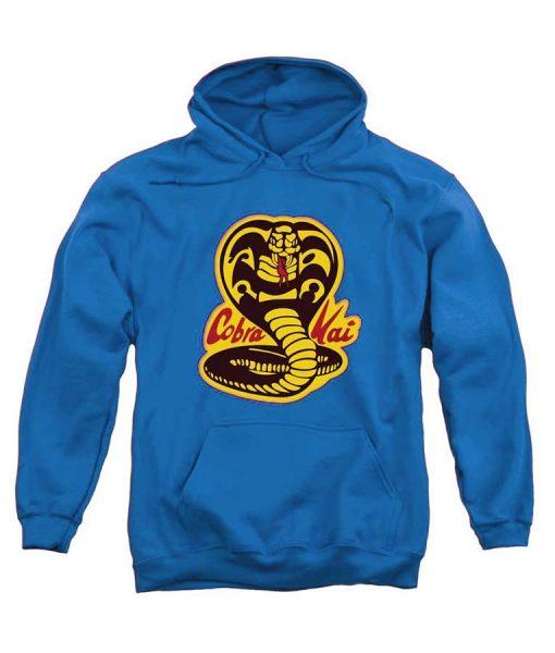 Karate Kid Cobra Kai Blue Hoodie