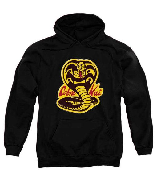 Karate Kid Cobra Kai Logo Hoodie