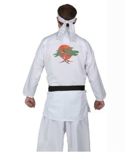 Cobra Kai Karate Kid Daniel Larusso Uniform Costume