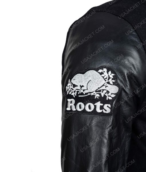 LL Cool J Rock The Bells Bomber Jacket With Leather Sleeves