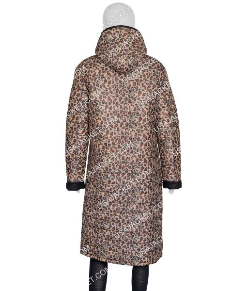 Joe Fresh Jilly Leopard Print Jacket With Hood
