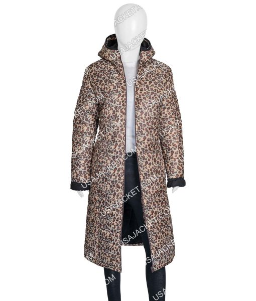 Leopard Print Joe Fresh Jilly Jacket With Hood