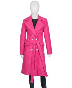Emily Pink Trench Coat