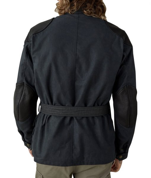 Long Way Up Ewan McGregor Blue Jacket