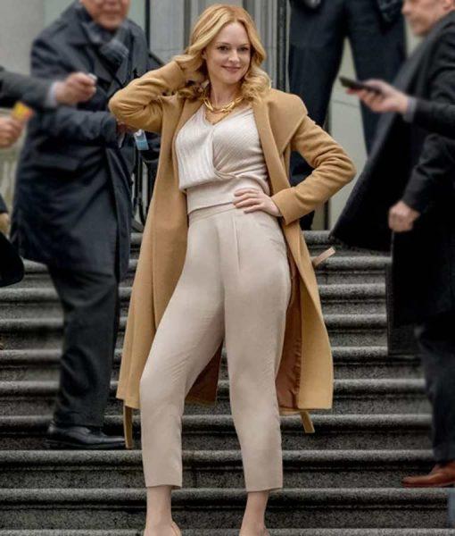Heather GrahamLove, Guaranteed Beige Trench Coat