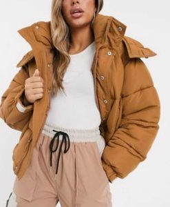 Marianne Victoire Du Bois Puffer Jacket With Hood