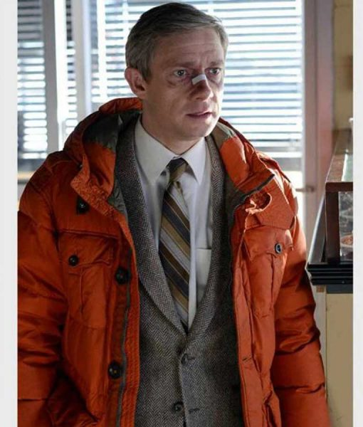 Fargo Lester Nygaard Red Parachute Jacket