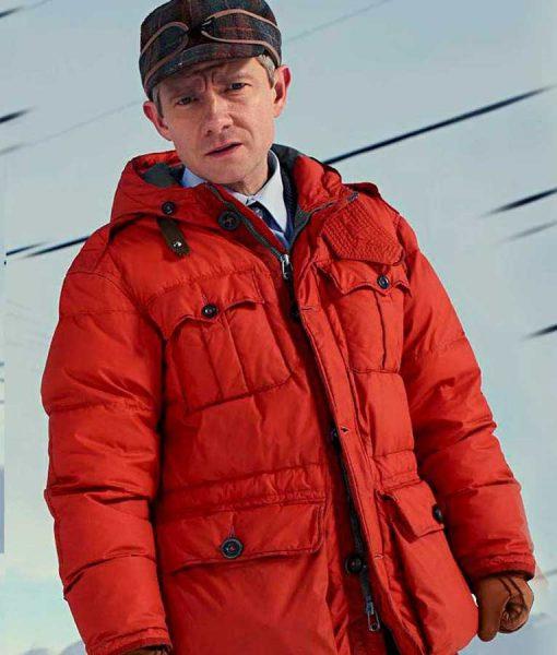 Martin Freeman Fargo Red Jacket