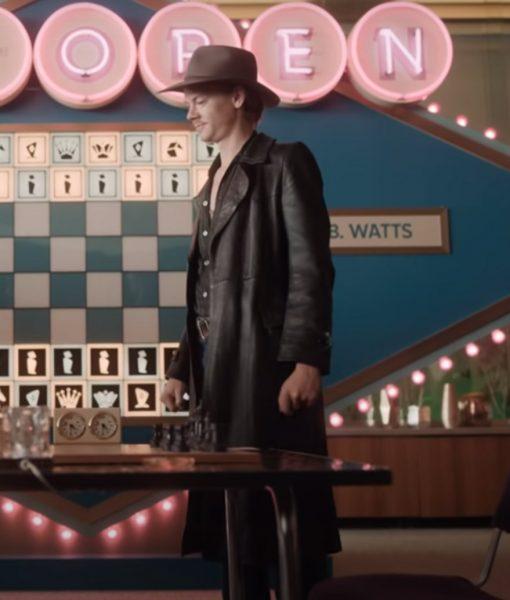 Matt The Queen's Gambit Matthew Dennis Lewis Trench Coat