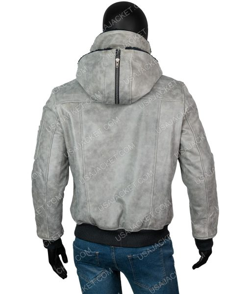 Michael Rainey Jr.Power Book II Ghost Grey Hooded Jacket