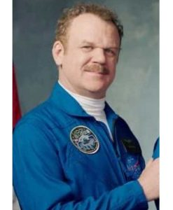 Moonbase 8 John C. Reilly NASA Blue Jacket