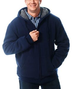 Mountain Ridge Sherpa Lined Hoodie