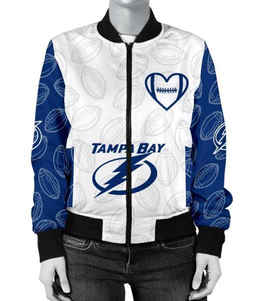 NHL Bomber Style Tampa Bay Lightning Jacket