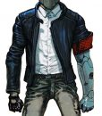 Nameless Protagonist Puppy Ruiner Leather Jacket