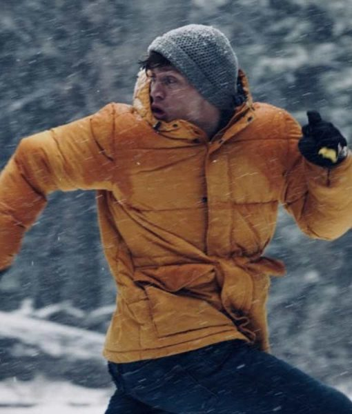 Never Hike In The Snow Courtlan Gordon Jacket With Hood