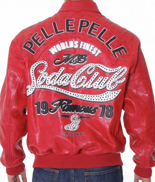 Pelle Pelle Soda Club Bomber Jacket