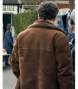 Peter Jay Des Daniel Mays Brown Suede Leather Coat