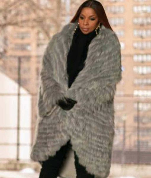Power Book II Ghost Monet Grey Fur Coat