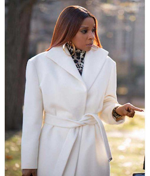 Power Book II Ghost Mary J. Blige White Coat